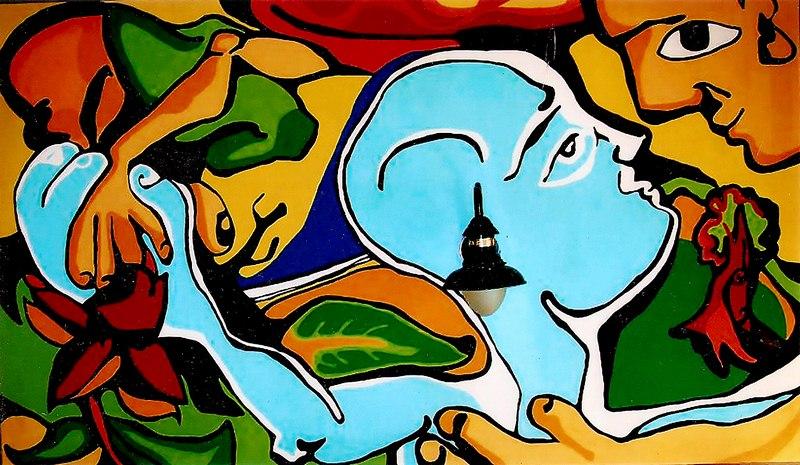 El Reencuentro – 235 x 125 cm