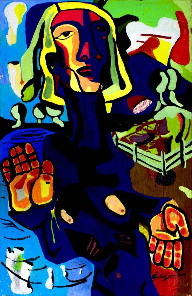 Marta en Equilibrio – 50 x 80 cm